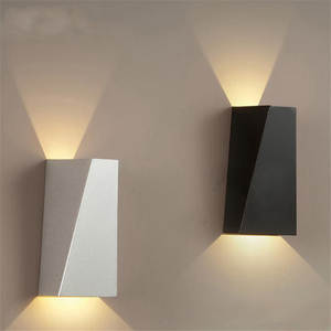 GYLBAB Wall-Light LED 110v 220v Night-Rail-Project Arts Shot-Angle Square Mood Bedroom
