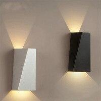 Gylbab 6 w led 알루미늄 워시 벽 조명 야간 레일 프로젝트 광장 샷 각도 침실 벽 램프 예술 호텔 110 v 220 v cob 분위기|스페셜 엔지니어링 라이트|등 & 조명 -