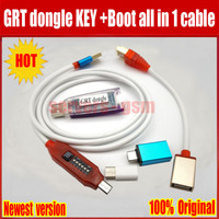 GRT dongle KEY powerful+Boot all in 1 cable for Qualco Tool IMEI repair remove FRP for Samsung Huawei HT C NOKIA L G SONY oppo v