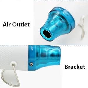 Image 4 - Heat Gun 110/220V 300W Power MAX 200 Temperature DIY Use Electric Power Tool Portable Digital Mini  Hot Air Gun With Seat Shrink