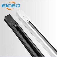 (EICEO) 0.5m LED Track Light Rail Track Lighting Fixture Rail For Track Lighting 2 wires light Track Lamp Rail Free Shipping