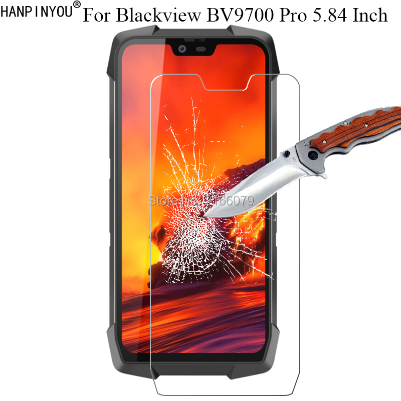 1 Pc / 2 Pcs 9H 2.5D Tempered Glass Screen Protector For Blackview BV9700 Pro 5.84