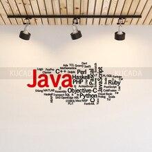 Английский код наклейки на стену в офис Цитата технологии Интернет Программное обеспечение компании культурный наклейки для украшения стен Art фрески JG4201