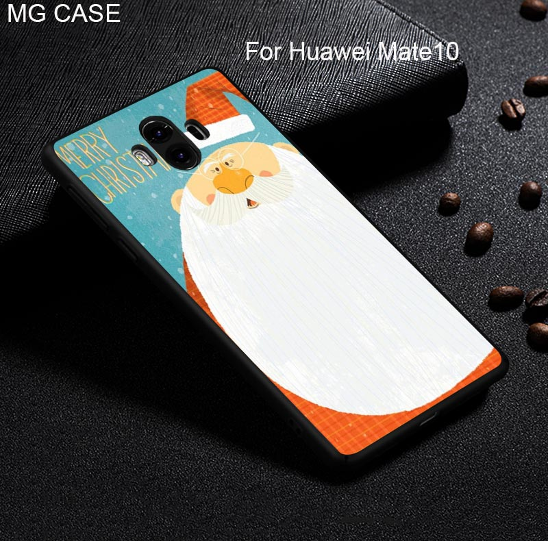 Merry Christmas Phone Case For Huawei Mate9 Mate9pro Mate10 Mate10pro Cover For Huawei Nova2 nova2plus Head 6 Mobile Phone bag