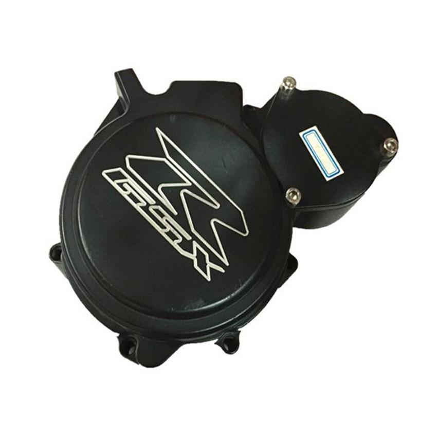Stator Engine Cover Crank Case For Suzuki GSXR600/750 2006-2007 Aluminum Moto Accessories Black