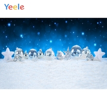 Yeele Christmas Photocall Bokeh Glitters Gifts Ball Photography Backdrops Personalized Photographic Backgrounds For Photo Studio