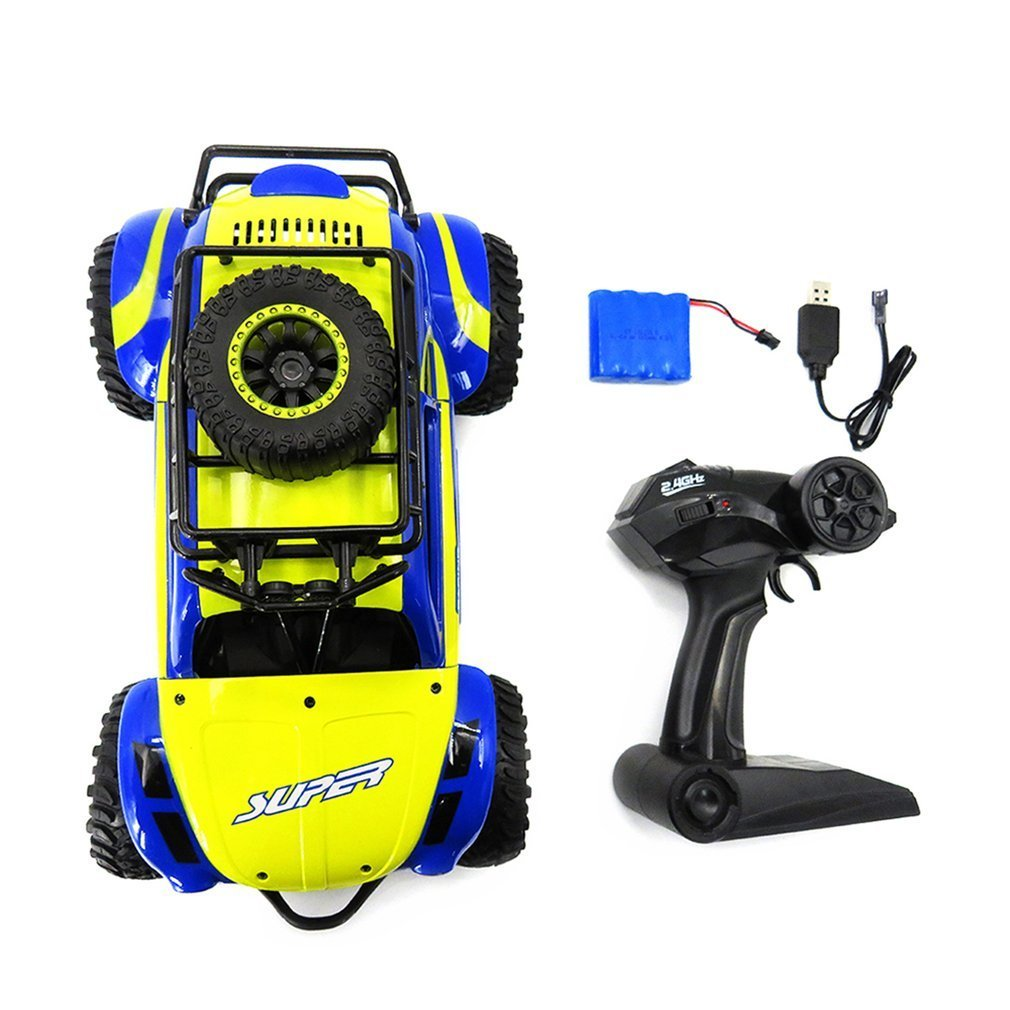 Flytec 113A 1:14 4 Wheels Drive 2.4GHz Climbing Bike Full Scale Off road Rc Car