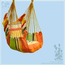 Newest Canvas Hammock Adult Indoor Swing Cradle Outdoor Handing Chair Children Hammock Tourism with Cushion Bearing 120KG
