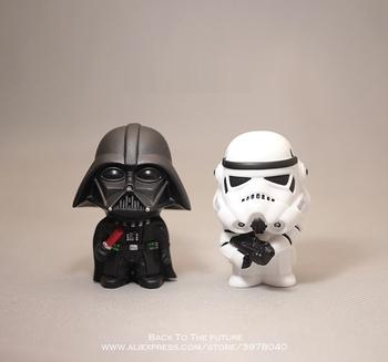 Disney Star Wars 10cm Anime figurka lalka przebudzenie mocy czarna seria Darth Vader zabawki model dla dzieci prezent tanie i dobre opinie Robot Żołnierz gotowy produkt Wyroby gotowe Unisex NO BOX 11cm 1 60 Zachodnia animiation Second edition 14 lat 6 lat
