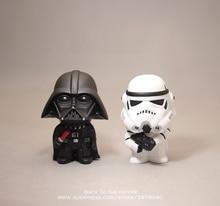 Disney Star Wars 10cm Anime font b Figure b font doll Action Force Awakens Black Series