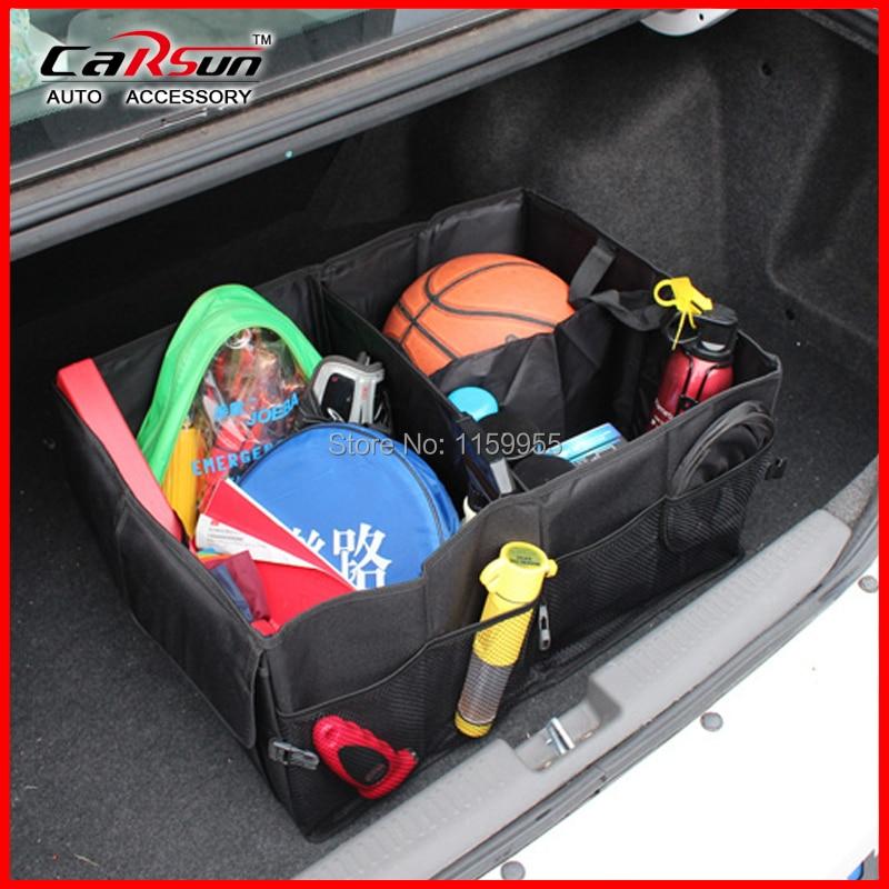 Oxford Tissu Imperméable Organisateur De Stockage de voiture Portable Auto Pliant Multi-useTool boîte Organisateur de sauvegarde boîte pliante, casier