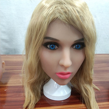 AILIJIA silicone doll for sex #139 Oral Sex Doll Head for Male Real Big Size Love Dolls 135cm-176cm Sex Toy sex mannequin torso full silicone sex doll head only for male sex toys products oral sex love dolls