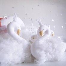 Спальные игрушки милая Корона Лебедь Шап детская подушка детская комната украшения Дети животные куклы фотографии реквизит 35×35 см