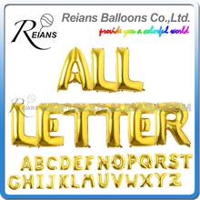 40 inch big gold letters birthday party wedding ballons large helium air balloons foil balloons letters anniversaire alphabet in ballons accessories from