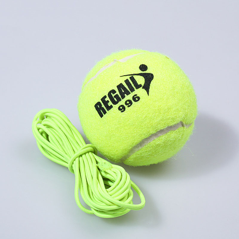 Sport For All Ages Green Rubber Tennis Training Ball Elastic Rubber Band 130CM Practice Trainer High Elasticity