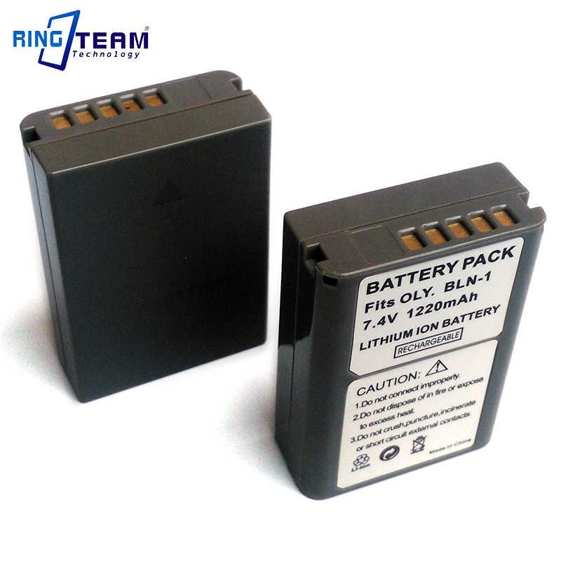 2 шт./лот Перезаряжаемые Батарея пакет BLN 1 BLN1 для цифровой камеры Olympus OM D E M5 II M1