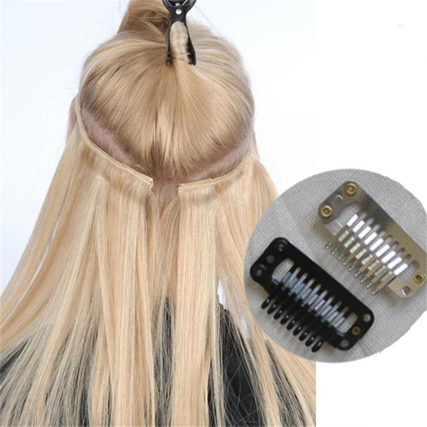 Feibin isječak u ekstenzije za kosu sintetička kosa 22inch 55cm - Sintetička kosa - Foto 4