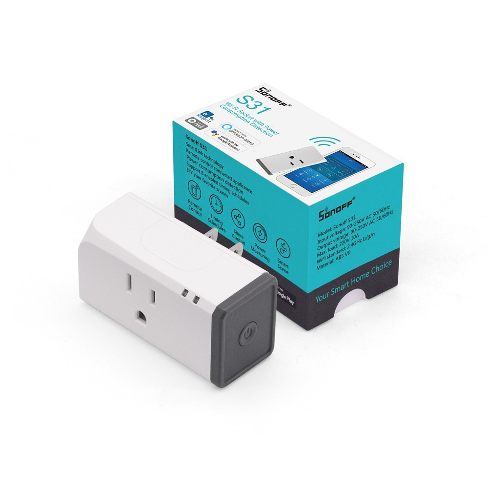 Sonoff S31 Smart Timing Power Plug With Energy Monitoring US ...