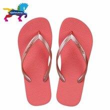 Hotmarzz Women Red Flip Flops Sandals Slim Slippers Summer Beach Shoes Rubber Designer Brand Slides House Shower Slippers