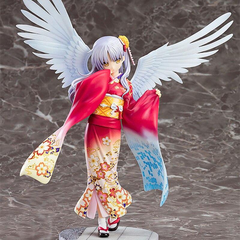 19cm ange bat Tachibana Kanade kimono beauté filles Sexy filles PVC figurines jouets Anime figure jouet pour enfants enfants cadeau