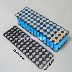 Image 3 - Держатель аккумулятора 4P13S 18650 + никелевая полоса 4P2S для литий ионных батарей 13S 48 в 10 Ач, держатель 4*13 и никелевый ремень 4*2