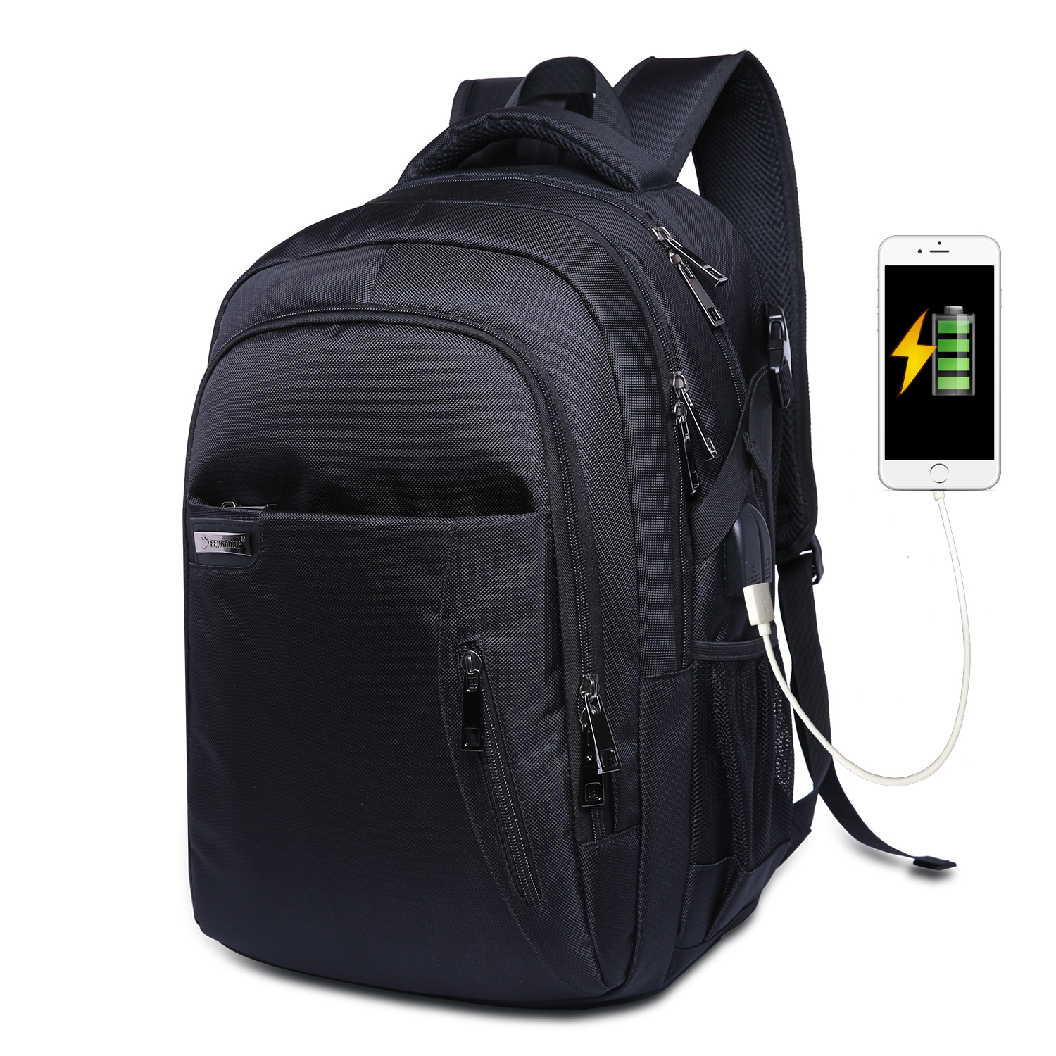 2019 Men Backpack Multifunction Men Shoulder Bag Business Casual Tourist Anti-theft Waterproof 15.6 Inch Laptop Men Backpack