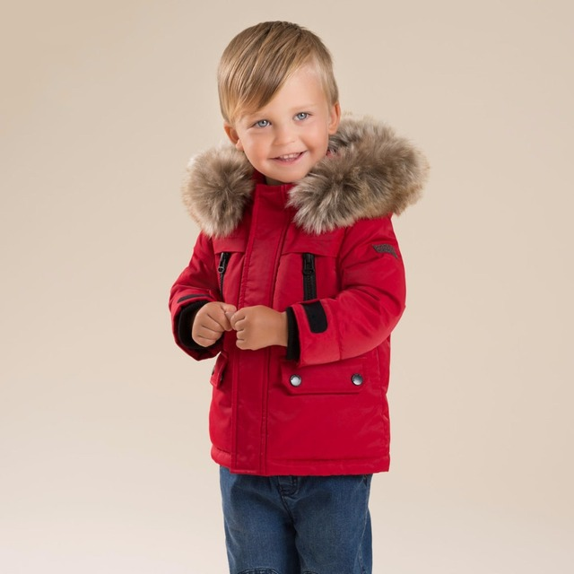 a0d000d4eafd Brand Winter 90%Down children kids baby boy christmas red down coat ...