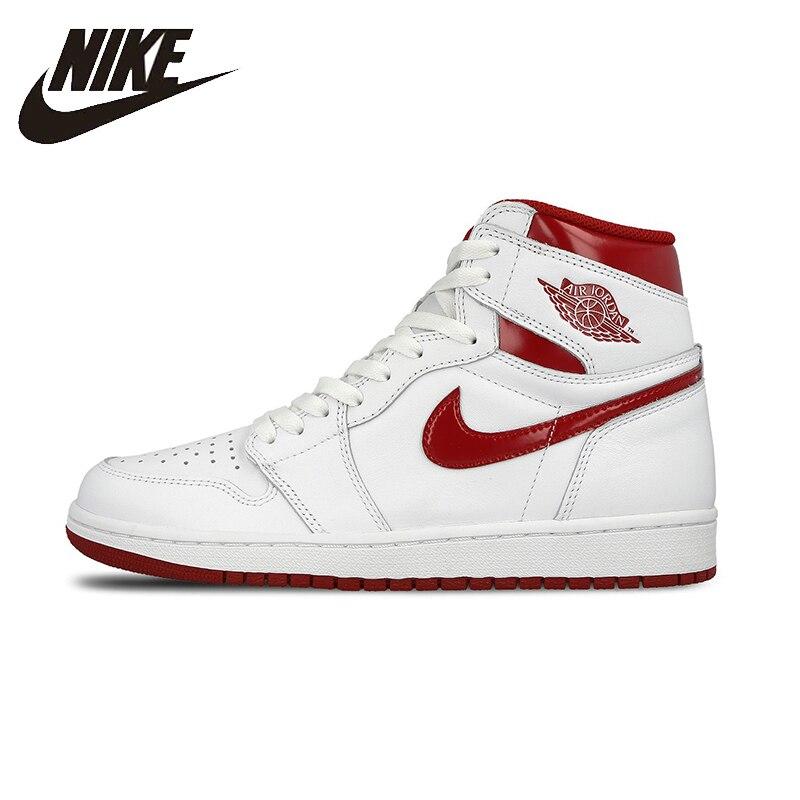 on sale 20ba7 75553 NIKE AIR JORDAN 1 RETRO AJ1 para hombres y mujeres zapatos de baloncesto de  la estabilidad