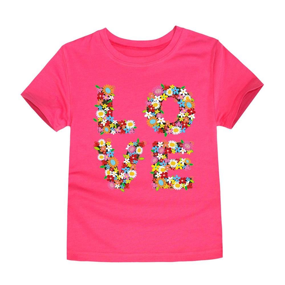 HTB1L KnSFXXXXX XFXXq6xXFXXX2 - SMHONG 2017 Baby Girls Flower T-shirt Summer Clothing for Girl Kids Tees Children Short Sleeve T shirt 100% cotton Top quality