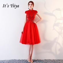 f6f7ead77a4bc Red Formal Knee Length Dresses Promotion-Shop for Promotional Red ...