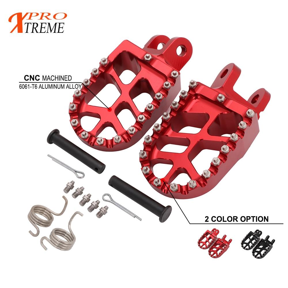 Motorcycle Foot Peg Footrests Foot Rest Footpegs For Honda CR85 XR250 XR450 XR350R XR600R XR650L XR 250 450 350 600 650 R L