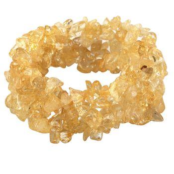Bracelet Citrine Naturelle