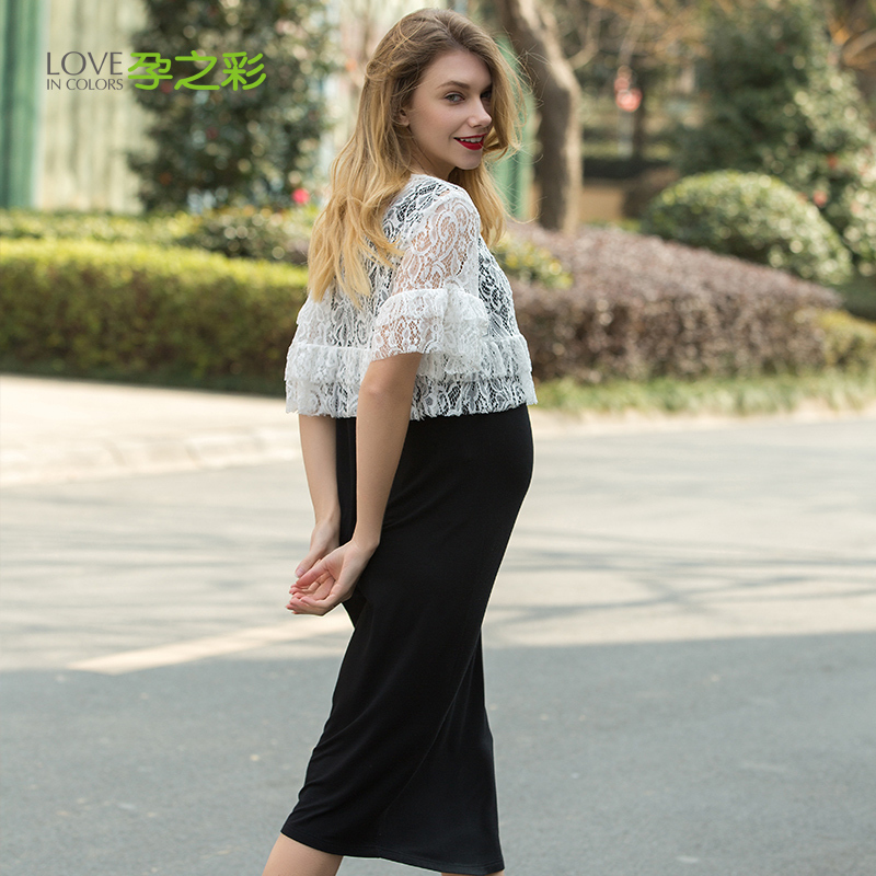 Lace Dress Party Maternity Clothes Maternity Dresses Pregnancy Clothes For Pregnant Women Nursing Dress Breastfeeding Dresses new party pregnant coat lace long pregnant breastfeeding dresses for women nursing dress hot selling