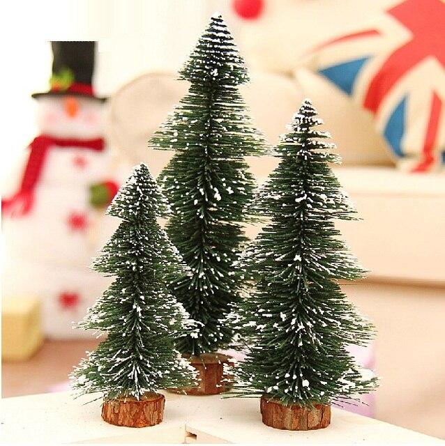 2015 nueva llegada del rbol de navidad un pequeo pino colocado en el escritorio de mini - Arbol De Navidad Pequeo