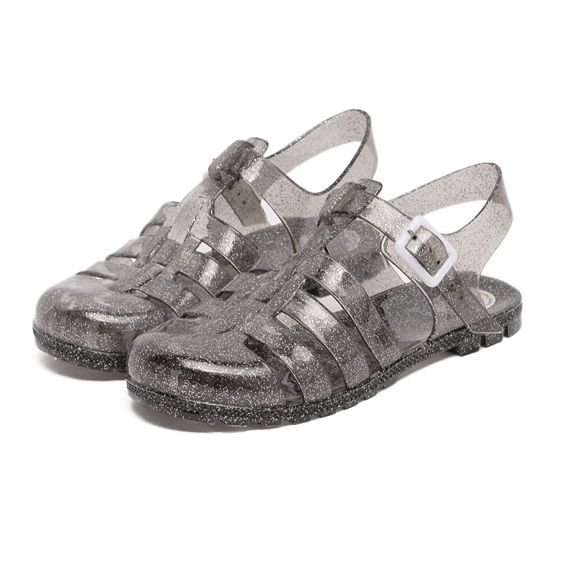 Sommarhösten Nya Casual Shoes Kvinnor Sandaler Jelly Shoes Feminino - Damskor