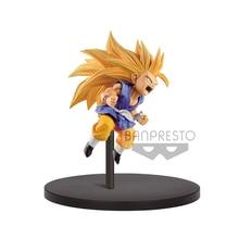 Tronzo Original Banpresto Action Figure D B Z Super fe 10 Goku SSJ3 Child Goku PVC Figure Model Toys GT Figurals Jouets