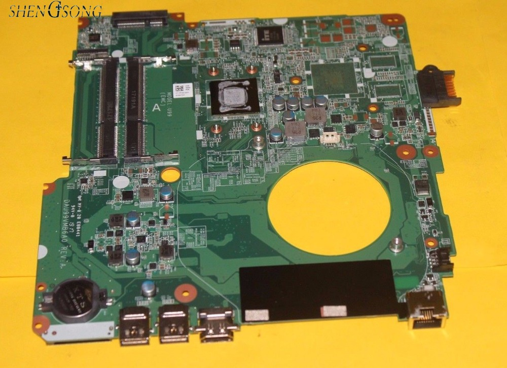 все цены на 846803-501 Free Shipping 846803-601 846803-001 Laptop motherboard For HP Pavilion 15-F motherboard A8-7410 CPU DAU99VMB6A0