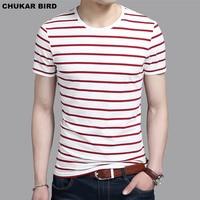 Fashion Men O Neck Short Sleeve Striped T Shirt 2017 Summer Round Neck T Shirts Men
