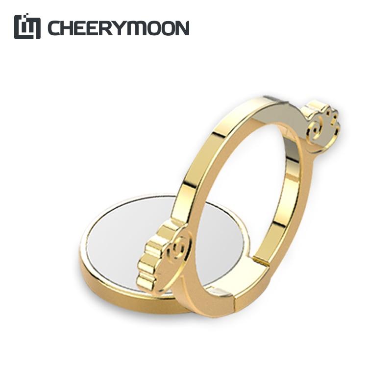 CHEERYMOON Angel & Demon Hållare Universal Mobiltelefon Ring - Reservdelar och tillbehör för mobiltelefoner
