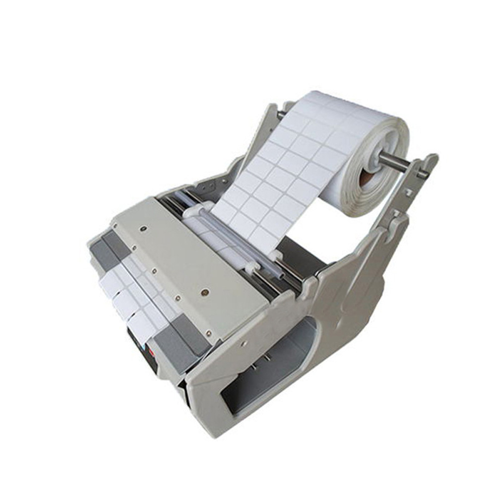 Automatic Label Dispenser X-180 Manual Sticking Labeling Machine with Counting Function x 100 automatic labeler dispenser label stripping machines labeler dispenser 250mm max dia