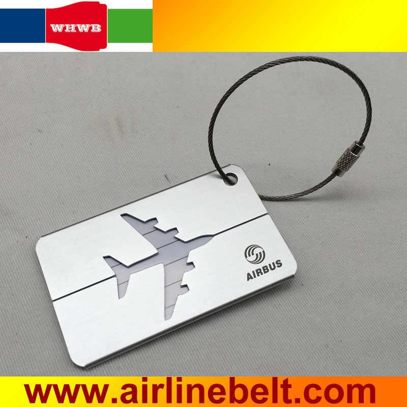Идеальный Airbus/Boeing авиакомпания багаж для самолета метки серебряный самолет