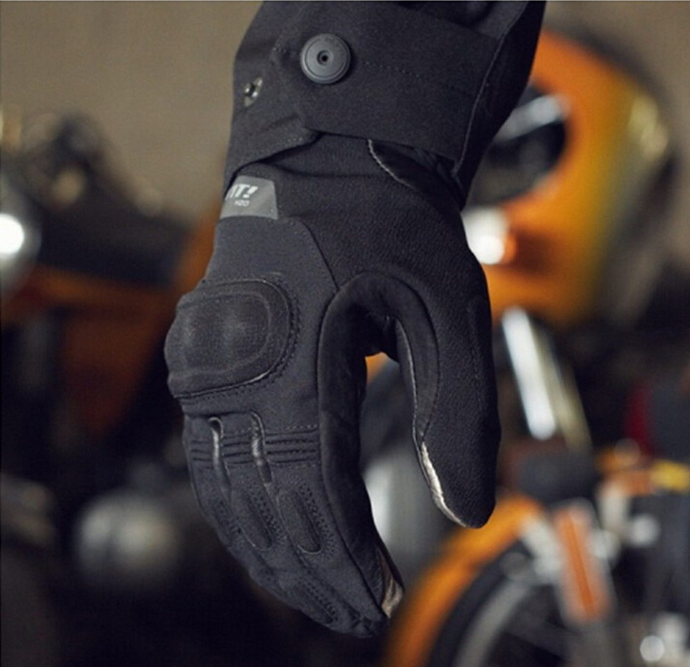 2016 Nouveau waterproo gant REV'IT! CARVER H2O Moto gants coupe-vent Revit moto gants de cuir et textile