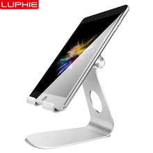Tablet Stand Adjustable, LUPHIE Tablet Stand : Desktop Stand Holder Dock Compatible with Tablet Such For iPad 2018 Pro 9.7 11 acrylic tablet stand ipad security stand secure samsumg tablet stand holder for phone retail shop display with retracted device