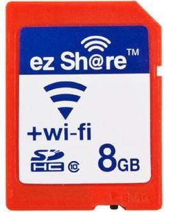 Brand New ez Share 8GB WiFi SD Card Class 10 SD Memory Card For Camera Photographer Shower Casio TR100 TR150 TR200 Free Shipping
