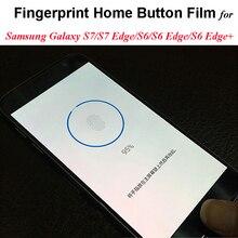Transparent Identify Fingerprint Protector Film For Samsung Galaxy S7/S7Edge/S6/S6 Edge+ Fingerprint Home Button Sticker