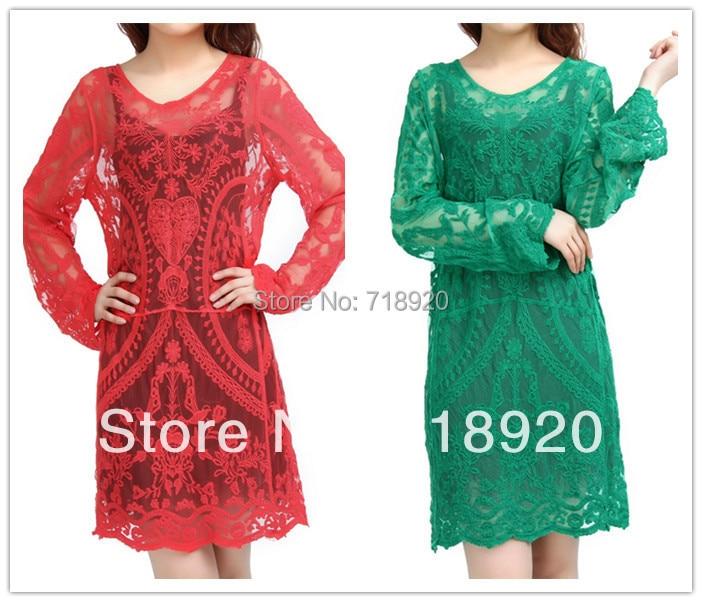 Fahisonlace red green fashion boutique victorian semi sexy