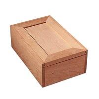 Luxury Pura Madeira SEM Pintura Cedar Wood Large Capacity Cigar Humidor Nice Storage Box Log Cigar Alcoholize Box