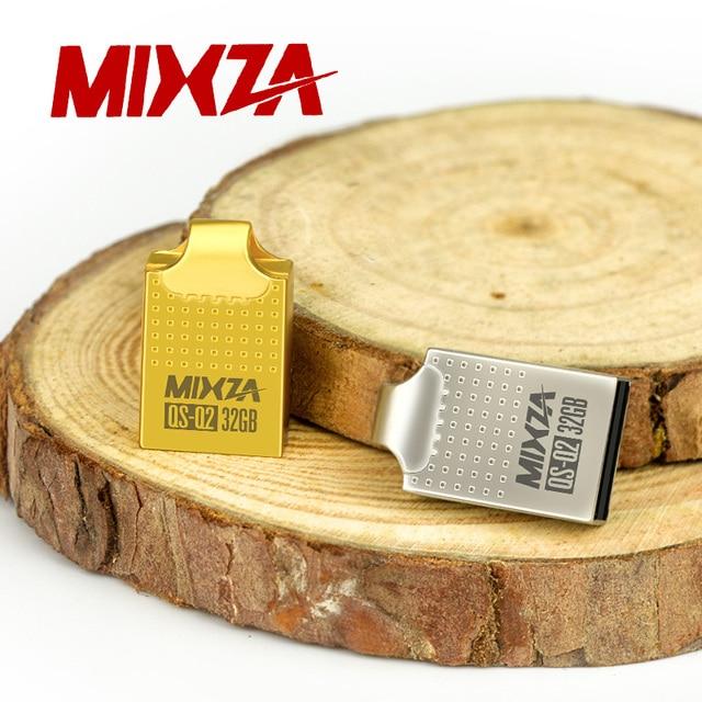 MIXZA QS-Q2 Mini USB Flash Drive USB Pendrive 4GB/8GB/16GB/32GB/64GB Flash Drive USB Stick USB 2.0 U Disk 1