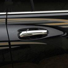 цена на ABS Chrome Door Handle Styling Cover Protection trim For Toyota Land Cruiser Prado FJ150 Accessories 2010-2018