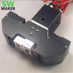 SWMAKER Ultimaker Original/2 NTC 3950/PT100/k-type termopara Cyclops Volcano hotend kit gorący koniec do części drukarki Reprap 3D